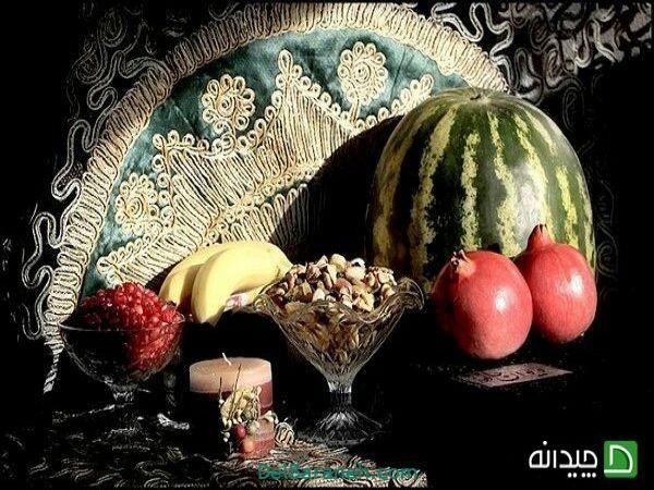 رنگ آمیزی نقاشی شب یلدا (۵۷)