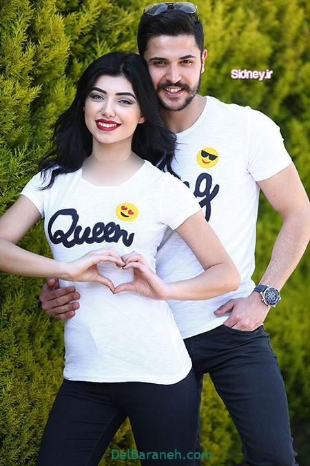 ست لباس زن و شوهر ایرانی (۱۵)