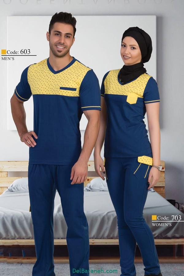 ست لباس زن و شوهر ایرانی (۶)