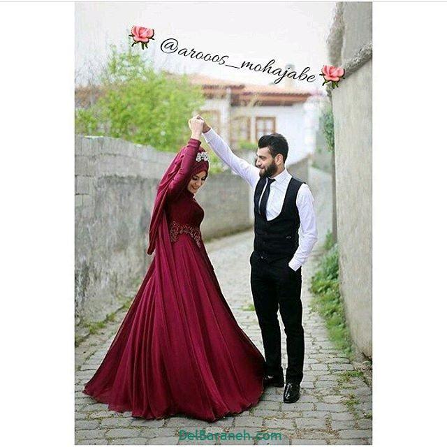 لباس زن و شوهر محجبه