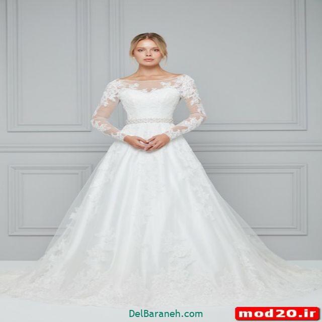 لباس عروس آستین دار (۲۰)
