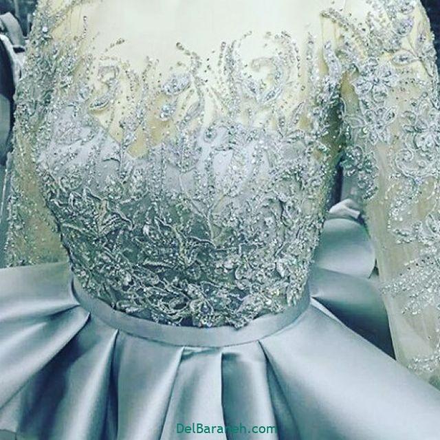 لباس عروس آستین دار (۳۲)