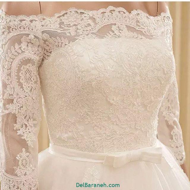 لباس عروس آستین دار (۳۳)