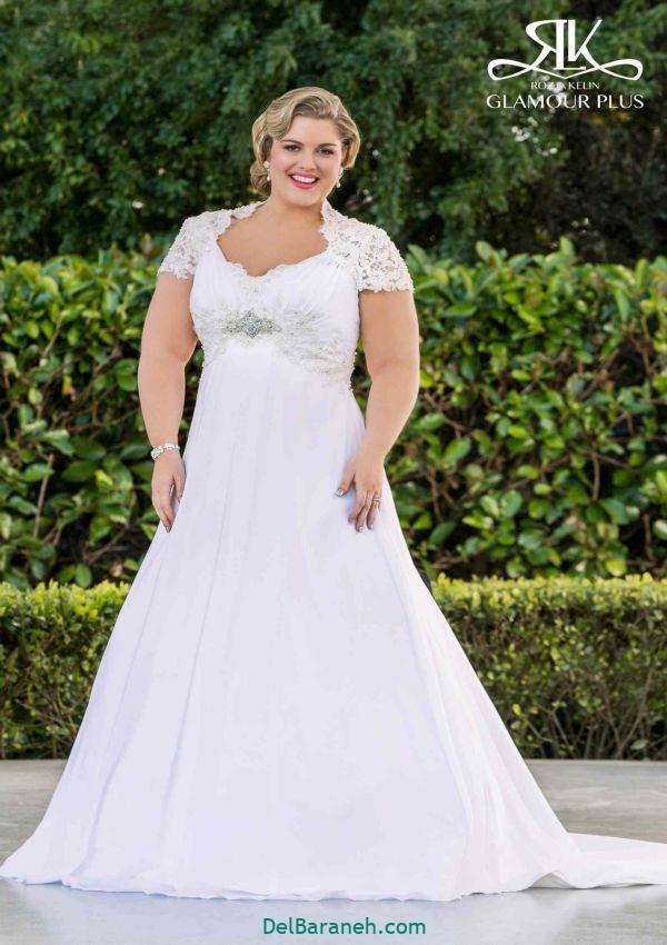 لباس عروس سایز بزرگ (۱۰)