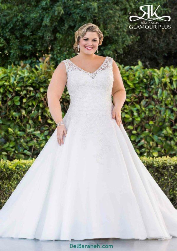 لباس عروس سایز بزرگ (۱۱)