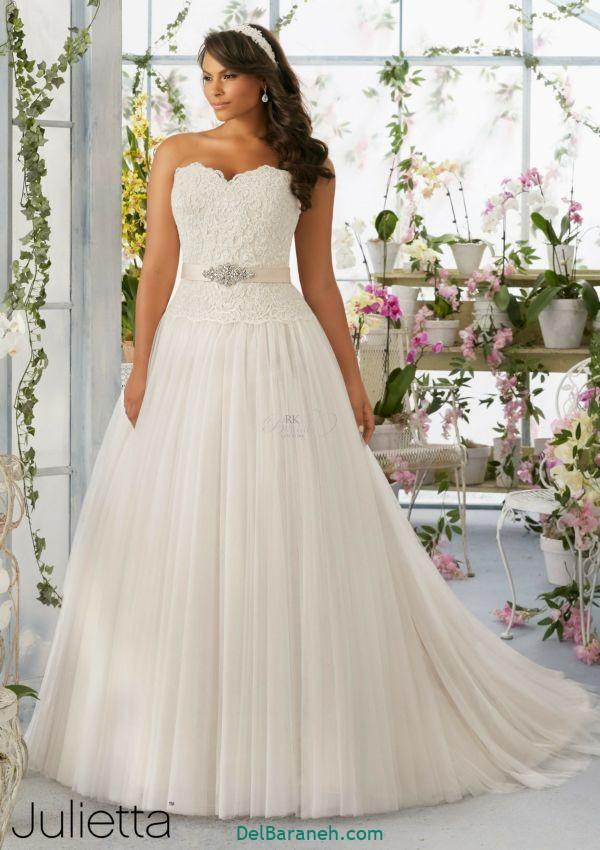 لباس عروس سایز بزرگ (۱۳)