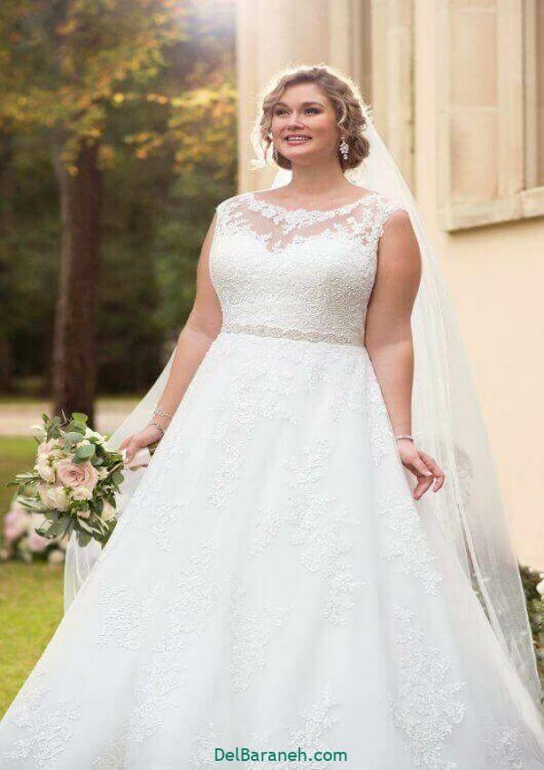 لباس عروس سایز بزرگ (۱۴)