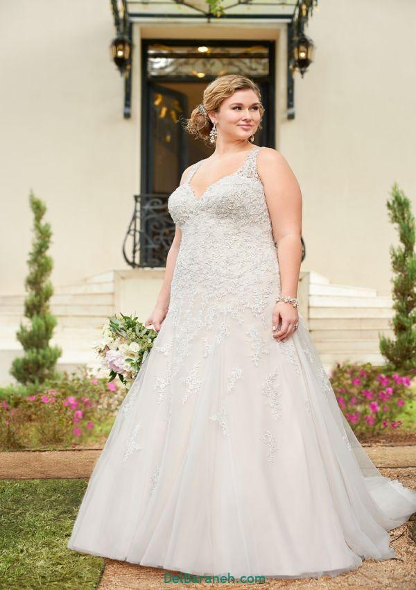 لباس عروس سایز بزرگ (۱۵)