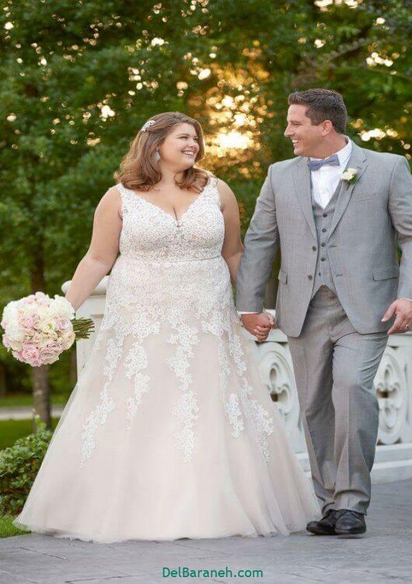 لباس عروس سایز بزرگ (۱۶)