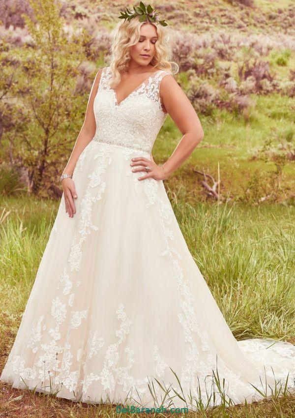 لباس عروس سایز بزرگ (۱۸)