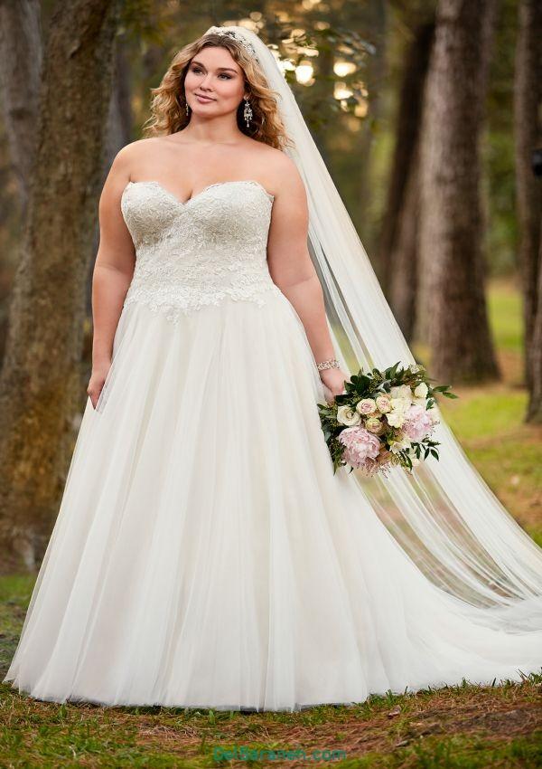 لباس عروس سایز بزرگ (۲)