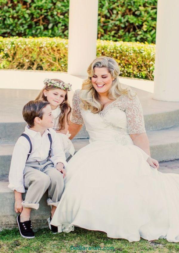 لباس عروس سایز بزرگ (۲۰)