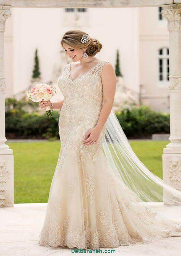 لباس عروس سایز بزرگ (۲۲)