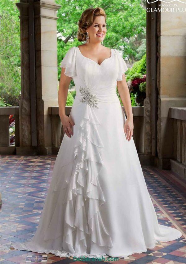 لباس عروس سایز بزرگ (۲۴)