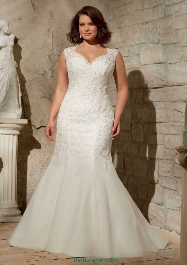 لباس عروس سایز بزرگ (۲۵)