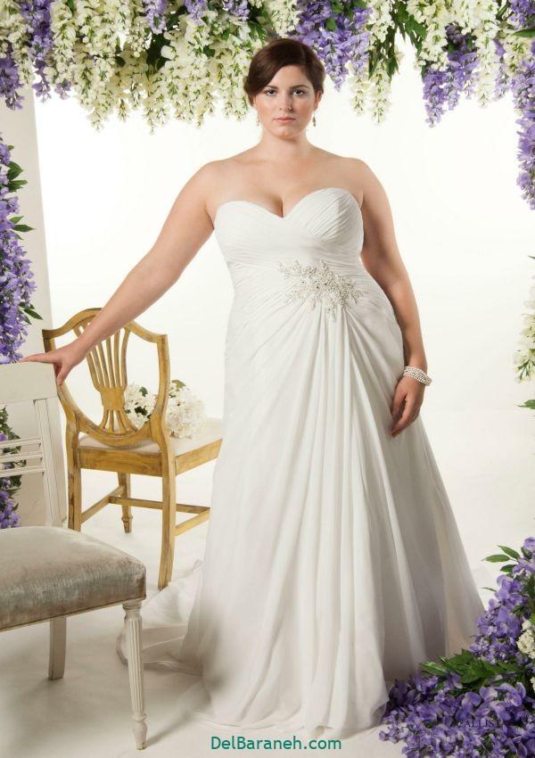 لباس عروس سایز بزرگ (۲۶)