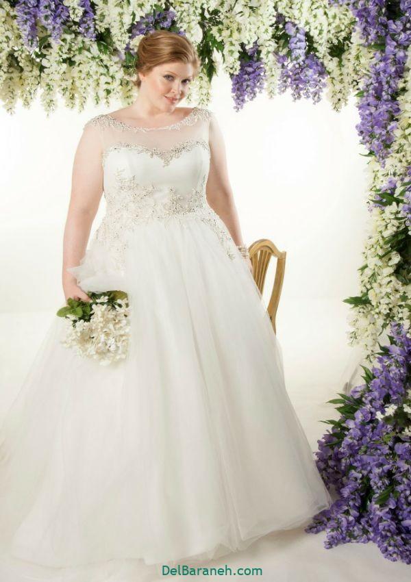لباس عروس سایز بزرگ (۲۸)
