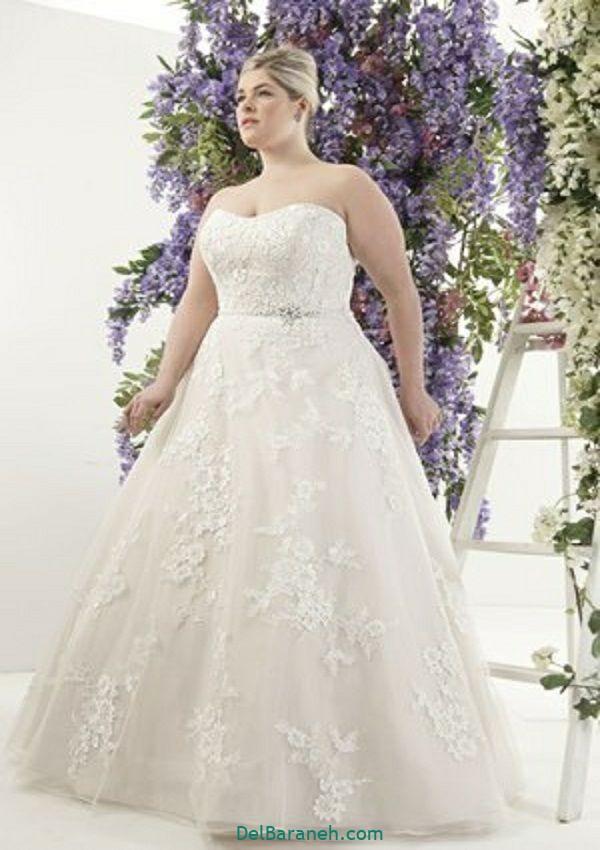لباس عروس سایز بزرگ (۲۹)
