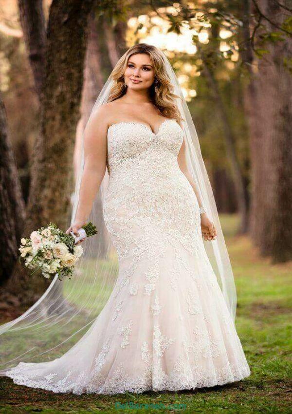 لباس عروس سایز بزرگ (۳)