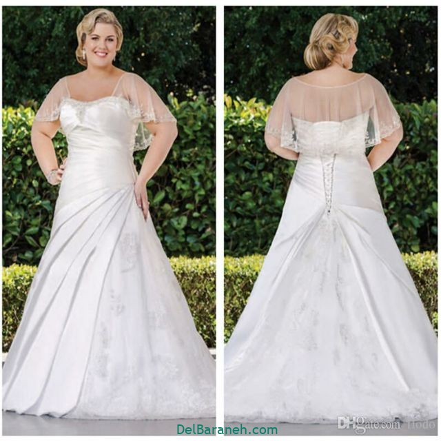 لباس عروس سایز بزرگ (۳۰)