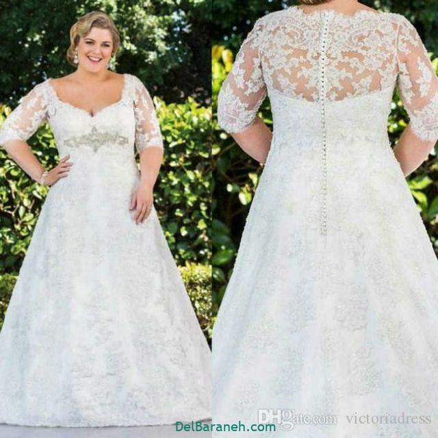 لباس عروس سایز بزرگ (۳۱)