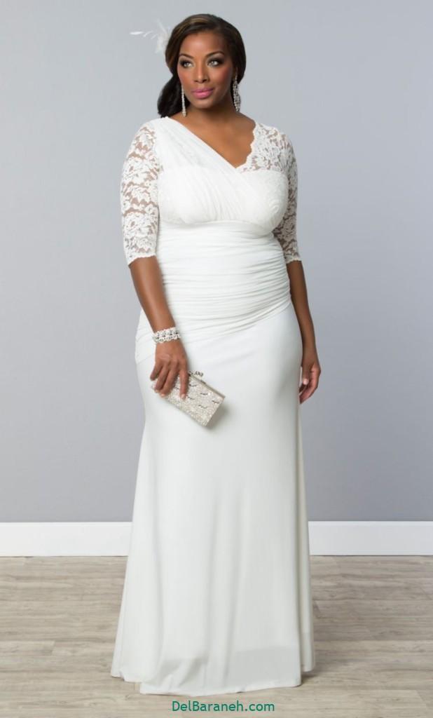 لباس عروس سایز بزرگ (۳۲)