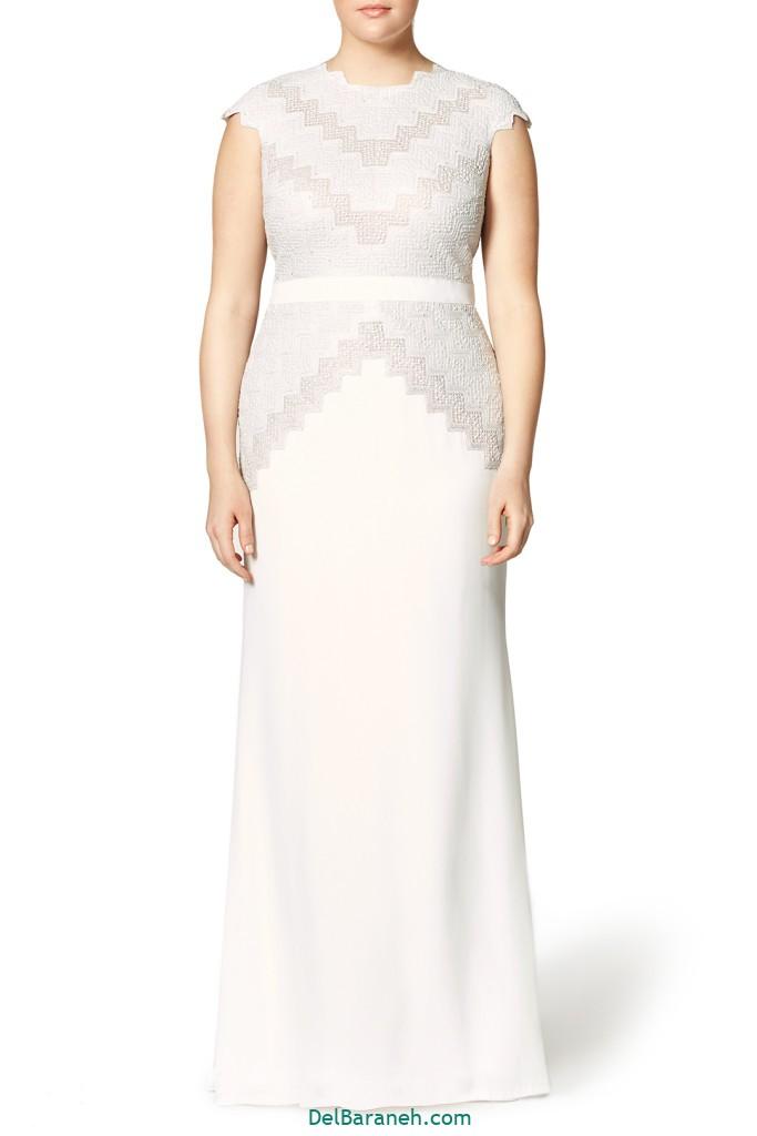 لباس عروس سایز بزرگ (۳۵)