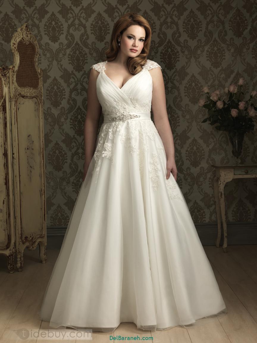 لباس عروس سایز بزرگ (۳۶)