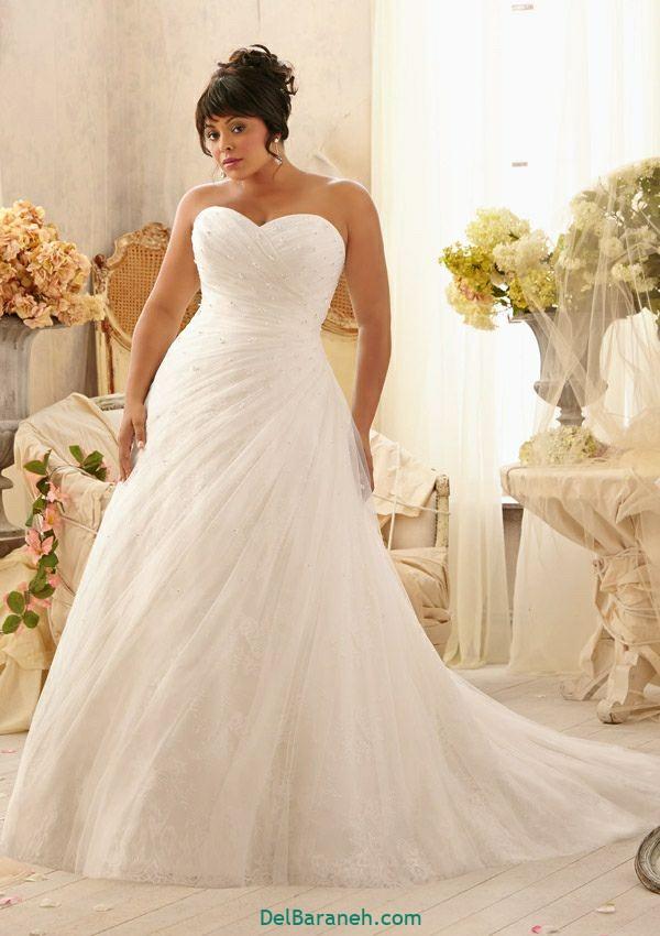 لباس عروس سایز بزرگ (۴)