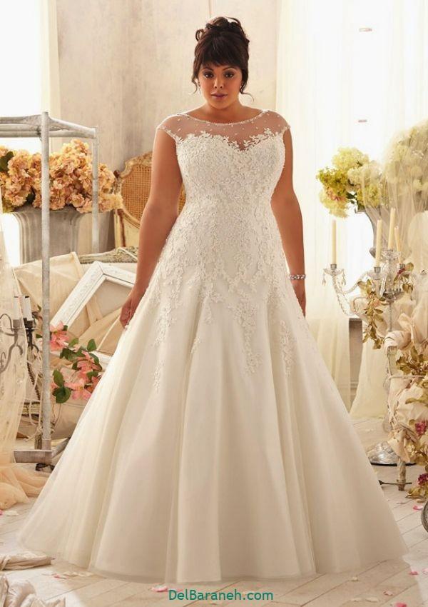 لباس عروس سایز بزرگ (۵)