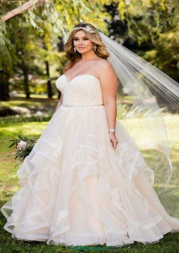 لباس عروس سایز بزرگ (۶)
