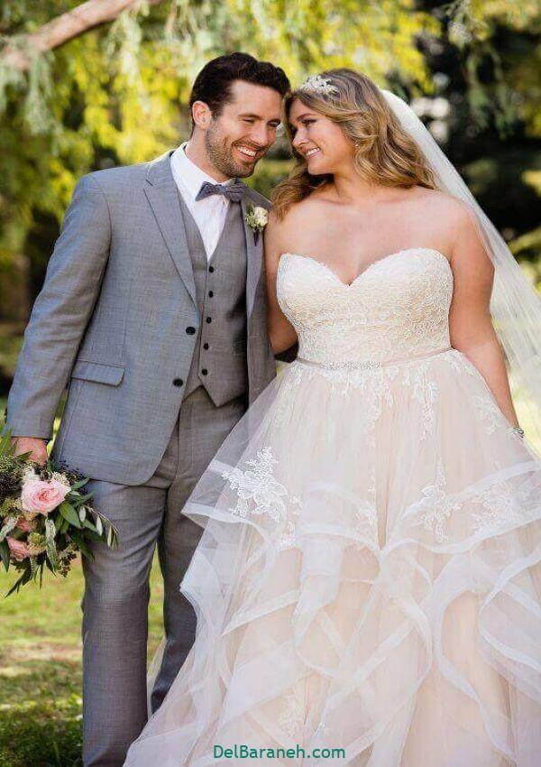 لباس عروس سایز بزرگ (۷)