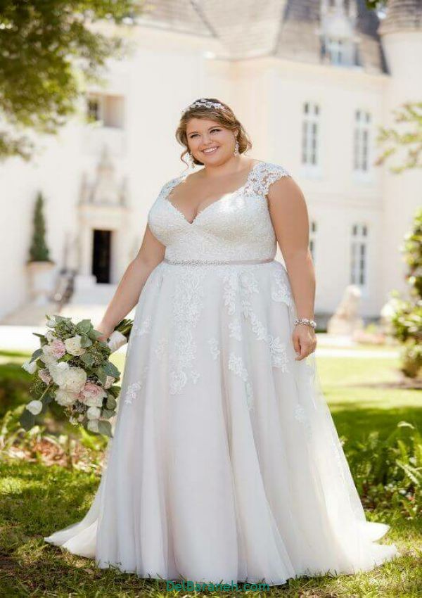 لباس عروس سایز بزرگ (۸)