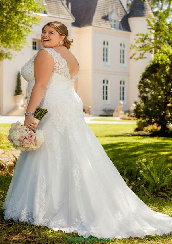 لباس عروس سایز بزرگ (۹)