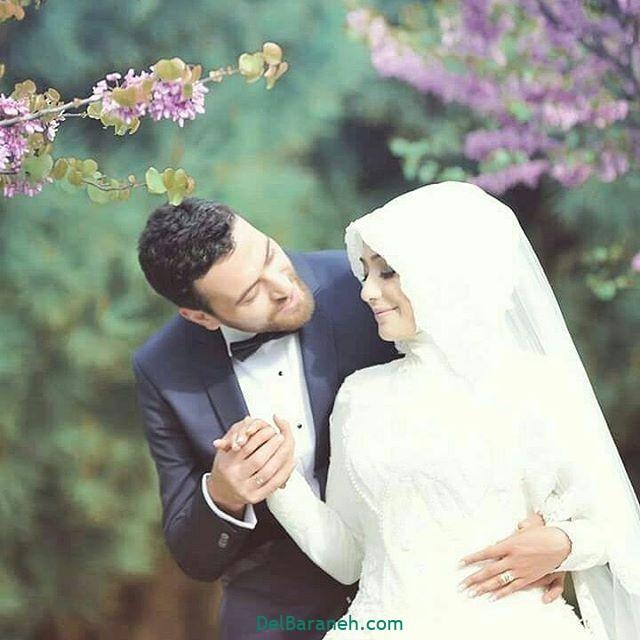 لباس عروس محجبه (۱)