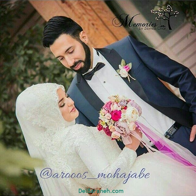 لباس عروس محجبه (۱۰)