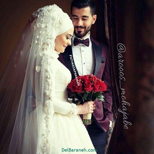 لباس عروس محجبه (۱۲)