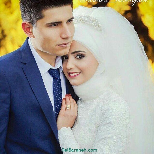 لباس عروس محجبه (۱۳)