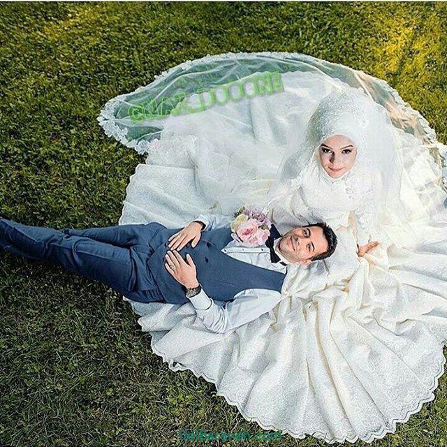 لباس عروس محجبه (۱۸)