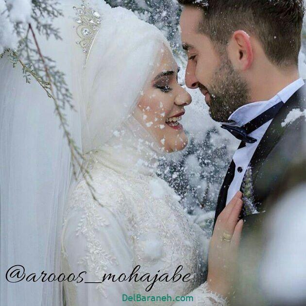 لباس عروس محجبه (۱۹)