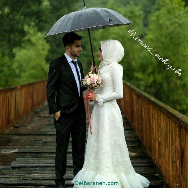 لباس عروس محجبه (۲۱)