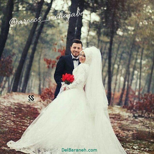 لباس عروس محجبه (۲۲)
