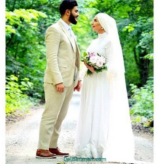 لباس عروس محجبه (۲۴)