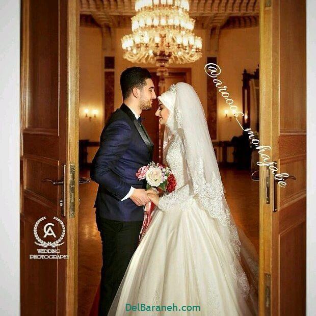 لباس عروس محجبه (۲۷)
