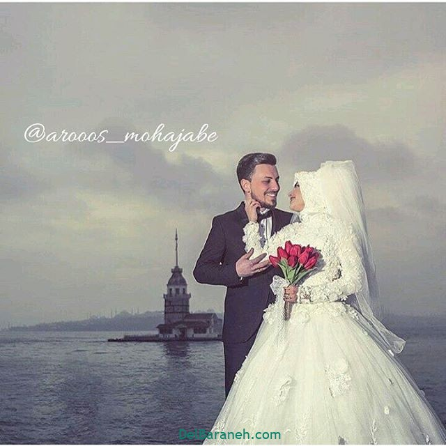 لباس عروس محجبه (۲۸)