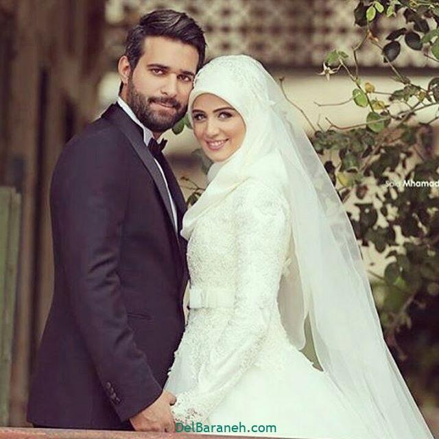 لباس عروس محجبه (۳)