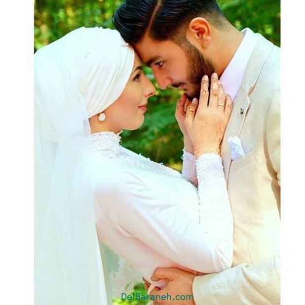 لباس عروس محجبه (۳۰)