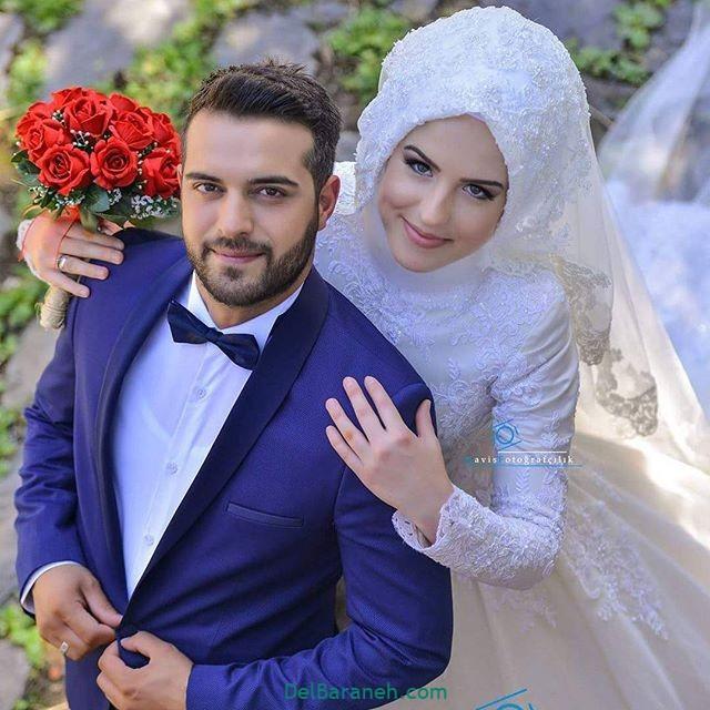 لباس عروس محجبه (۳۱)