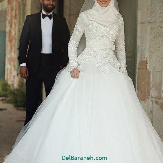 لباس عروس محجبه (۳۳)