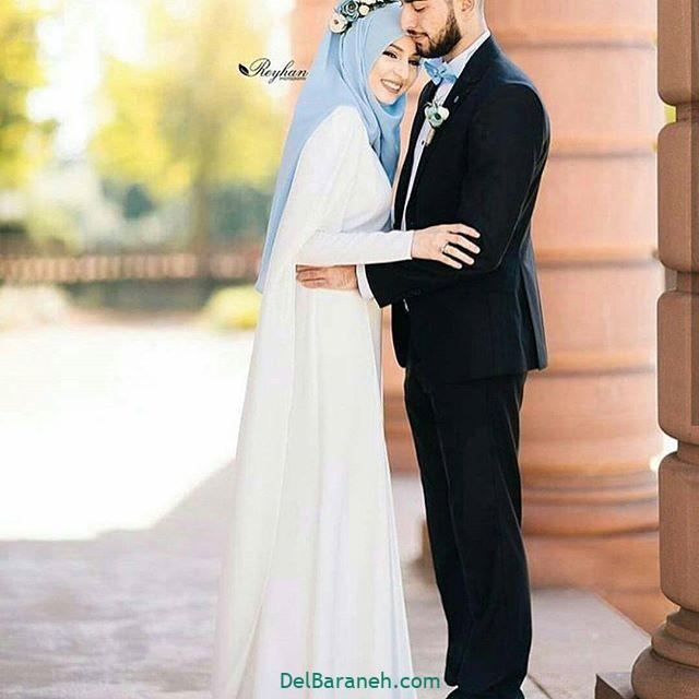لباس عروس محجبه (۳۷)